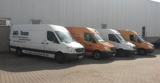 AKS Team - Unsere Transporter